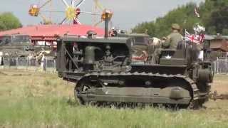 WW2 Construction Equipment at Work - War & Peace 2014