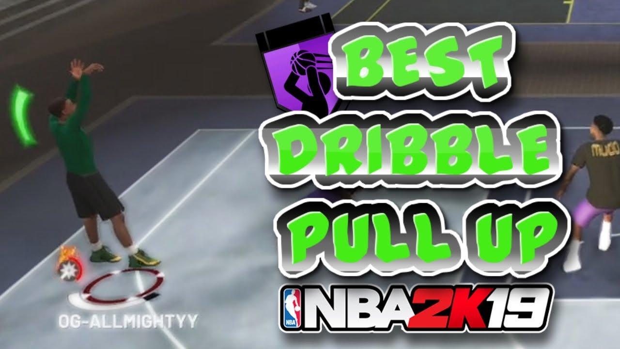 BEST DRIBBLE PULL UP IN NBA 2K19  FOR SHOT CREATORS ALL GREEN LIGHTS 2K19