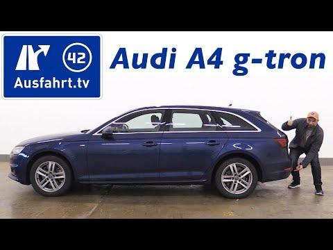 2017 Audi A4 Avant g-tron 2.0 TFSI S tronic (B9) - Kaufberatung, Test, Review / Erdgas / CNG