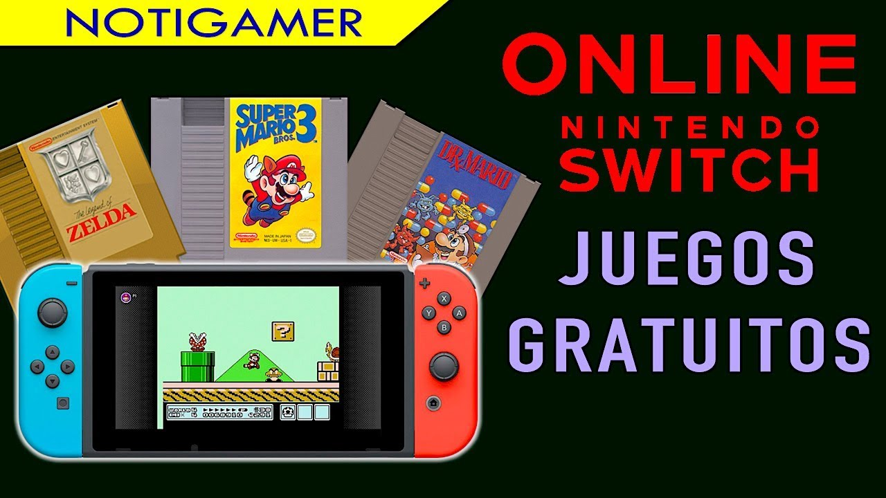 Los Juegos Gratis Del Servicio Online En Nintendo Switch Notigamer