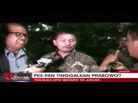 PKS-PAN Tinggalkan Prabowo?