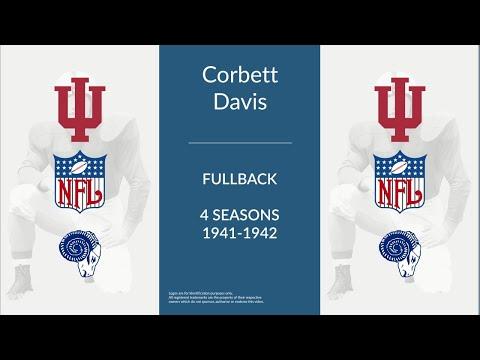 Corbett Davis: Football Fullback