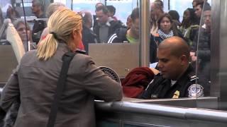 U.S. Customs & Border Protection Operations Back at Newark Airport