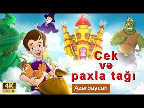 Jack ve Fasulye Sırığı | Azerbaycan Nagillari | Nagillar | 4K UHD | Azerbaijani Fairy Tales