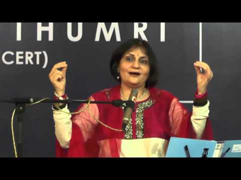 Insights on Thumri by Dhanashree Pandit Rai