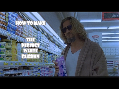 how to make the perfect white russian