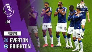 Résumé : Everton 4-2 Brighton – Premier League (J4)