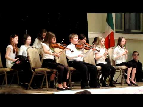 2011 Midwest Fleadh Cheoil, Irish Music School of Chicago, under 12 Ceili band