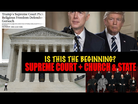 President TRUMP - One Step CLOSER to CHURCH/STATE Supreme court Historic Pick