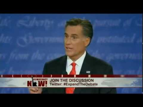 Expanding the Debate Exclusive: Third Party Candidates Debate As Obama-Romney Spar Part 3 of 3