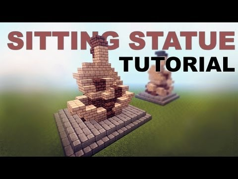 Minecraft Tutorial: Statue | FunnyCat TV