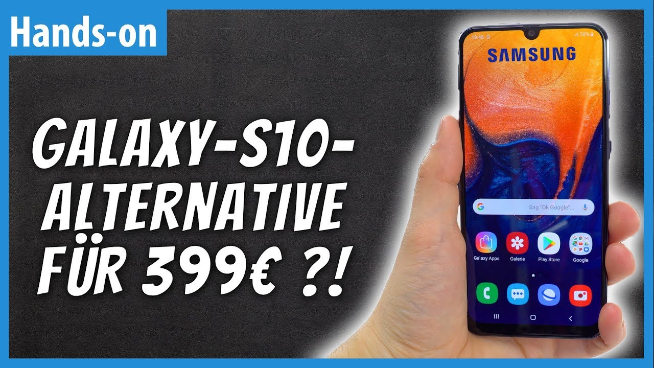 samsung galaxy a50 high end smartphone f r unter 400 euro. Black Bedroom Furniture Sets. Home Design Ideas