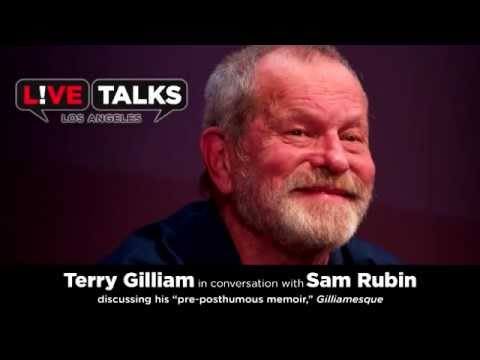 Terry Gilliam with Sam Rubin at Live Talks Los Angeles