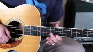 Eric Clapton Layla solo unplugged lesson part 2