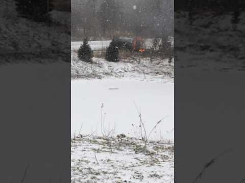 Car fire in south Cambridge, Ontario
