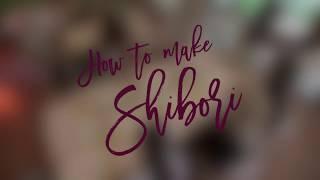 DIY video : Cara membuat kain Shibori