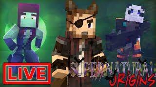 Minecraft Supernatural Origins #29.5 (Live Modded Survival)