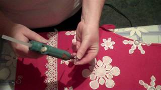 Day 8 of the 10 Crafts of Christmas Gift Wraping Caddy.wmv