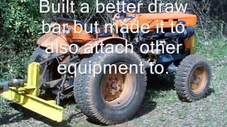Kubota Tractor Equipment - Video #1 - Homemade equipment Project.