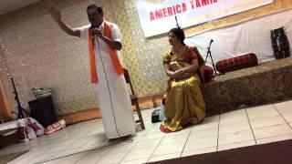 Part 1 New York City Hanuman Temple - America Tamil Sangam - Speech on Hindu Darma Pracharam