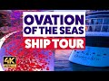 Ovation of the Seas Cruise Ship Tour