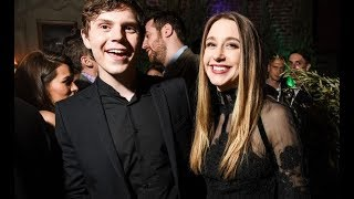 American Horror Story. Taissa Farmiga And Evan Peters Funniest Moments Compilation 2017