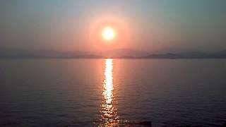 Good Morning with KCTV Kassiopi Sunrise Corfu Greece