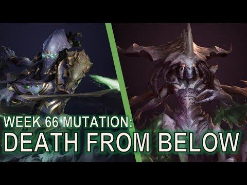 Starcraft 2 Co-Op Mutation #66: Death from Below [Fire and Shadow Fury]