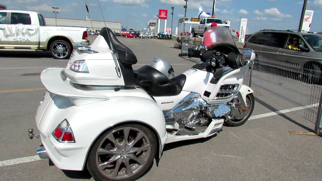 Honda Goldwing Trike >> 2009 Honda Goldwing Trike TheWingShop - Centre Hamel Honda - St.Eustache, Quebec, Canada - YouTube