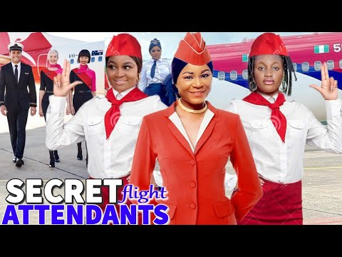 Download Secret Flight Attendants COMPLETE MOVIE - Destiny Etiko & Sharon Ifedi 2021 Latest Nigerian Movie