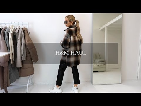 H&M Autumn/Winter Haul & Try On