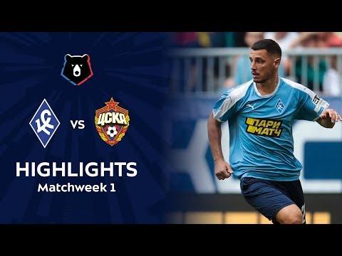 Highlights Krylia Sovetov Vs CSKA (2-0)