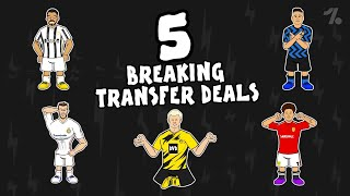 5 BREAKING transfer deals that could happen this summer! ► Onefootball x 442oons