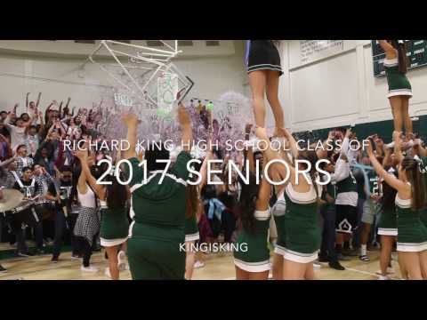 SENIOR PEP RALLY 2016 || RICHARD KING HIGH SCHOOL