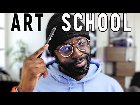 Why you SHOULD go to Art School.