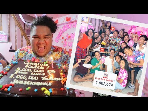 SURPRISE PARTY NG BNT & CADENATORS PARA KAY KWEEN LC | LC VLOGS #170