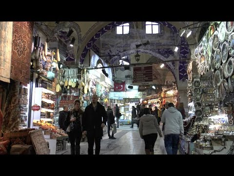 Istanbul. A walk around Grand Bazaar.