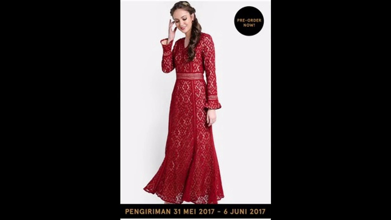 Baju Muslim Gamis Rancangan Terkenal Untuk Lebaran 2017