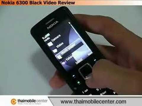 Nokia 6300 Black Video Review