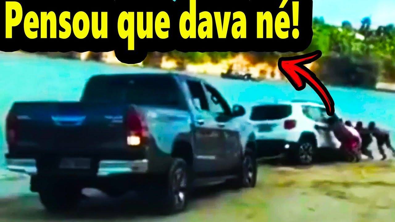 Jeep Renegade passando Vergonha na Lama ✓ Vídeos engraçados 2021 - YouTube