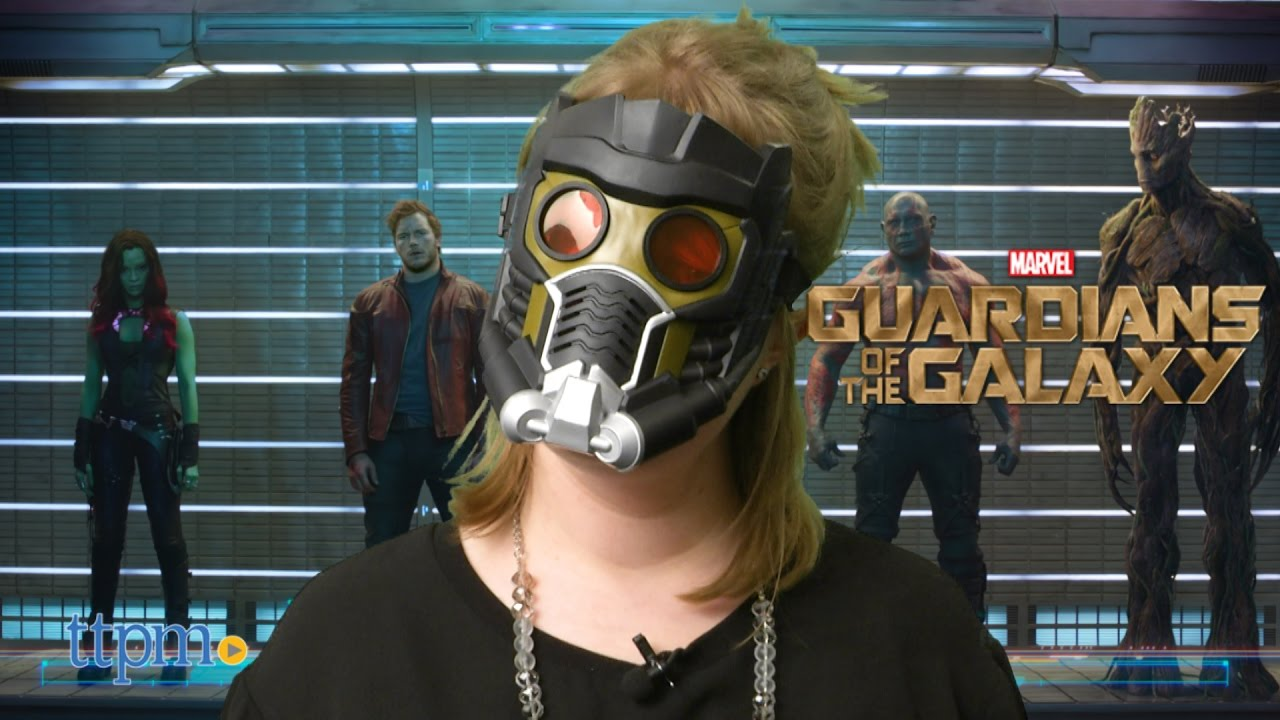 Connu Marvel Guardians of the Galaxy Star-Lord Mask from Hasbro - YouTube YR29