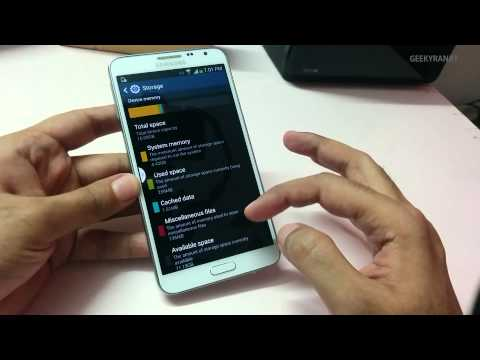 Samsung Galaxy Note 3 NEO Unboxing First boot & Overview