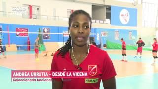 Movistar Deportes - Andrea Urrutia - Selección Nacional de Vóley
