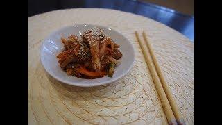 Корейская кухня: Хе из скумбрии по-корейски