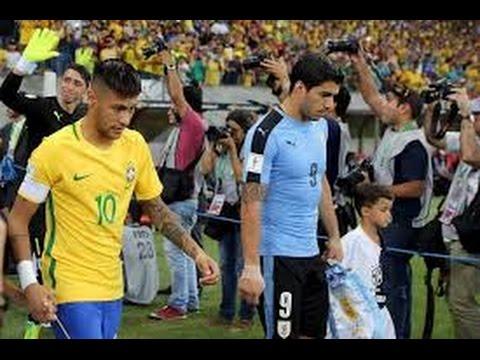 Brazil Vs Uruguay (2-2) All Goals & Highlights |HD| 2018 World Cup Qualification (CONMEBOL)