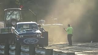 Super Street Gas 4x4 trucks at the Bunker Hill Shootout
