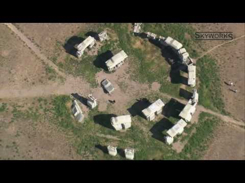 Nebraska Carhenge from Above (HD)