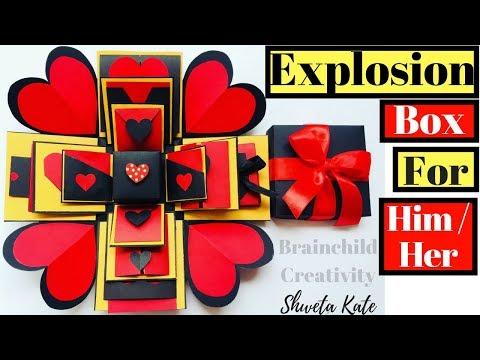 DIY Friendship Day Gift Ideas | DIY Explosion Box For Beginners