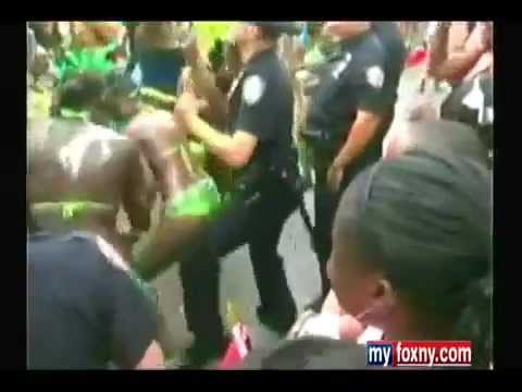 Crystal Rosas - #FBF NYPD Gets Twerked on During Caribbean Parade