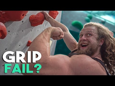 How My Grip Strength Works For Rock Climbing